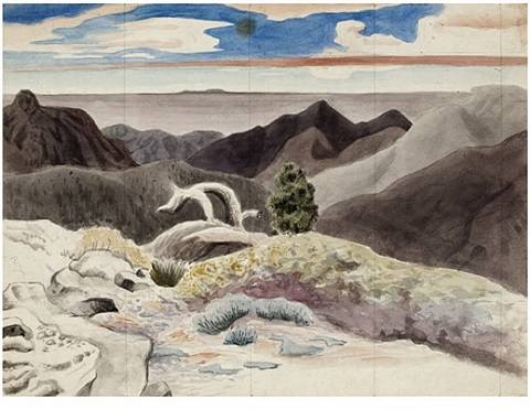 untitled [mojave desert] by charles pollock